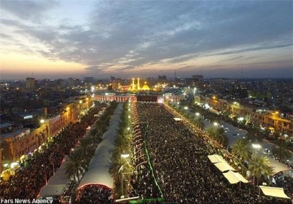 تصویر از کربلا در اربعین با میلیونها زائر دیدنیتر شد + عکس