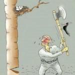 حکایت ضربالمثل «هرچه کنی، به خود کنی/گر همه نیک و بد کنی» را میدانید؟