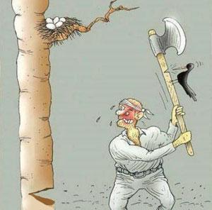 تصویر از حکایت ضربالمثل «هرچه کنی، به خود کنی/گر همه نیک و بد کنی» را میدانید؟
