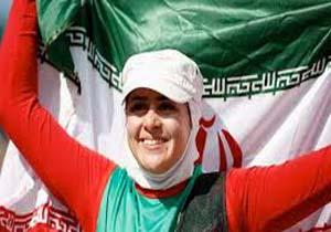 تصویر از زهرا نعمتی برترین ورزشکار معلول جهان شد