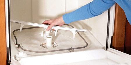 Photo of نحوه تمیز کردن محل تخلیه آب ماشین ظرفشویی