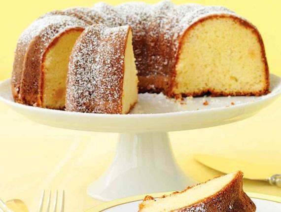 تصویر از کیک قالبی لیمو و زنجبیل