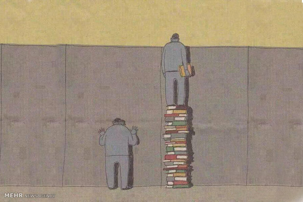 Photo of کاریکاتور های کتاب و کتاب خوانی