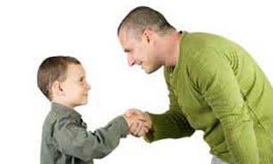 تصویر از معاشرت صحیح را به فرزندمان بیاموزیم