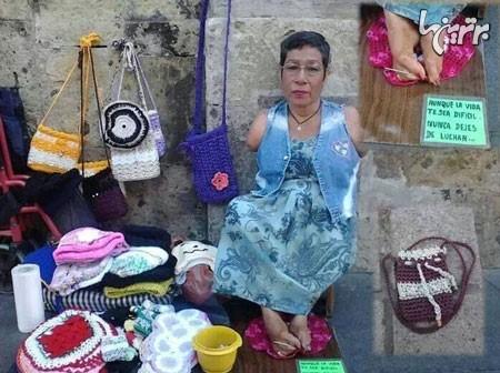 Photo of پشتکار را از این زن یاد بگیرید
