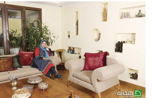 تصویر از دکوراسیون خوش سیمای خانه سیما تیرانداز!