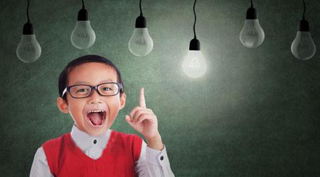 تصویر از بچه های پرحرف در آینده موفق ترند!