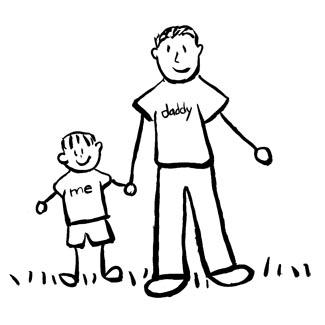تصویر از تست هوش: تعیین سن پدر و پسر