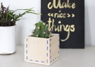 Photo of گلدان چوبی