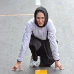 لیلا ابراهیمی، دختر رکوردشکن