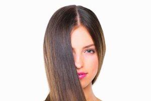 تصویر از صاف کردن موهای فر با یک روش موثر جادویی!!