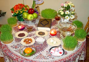 تصویر از هفت سین آداب دید و بازدید نوروزی