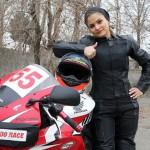 درخشش بانوی موتور سوار ایرانی در جهان