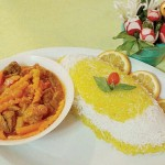 خورش آلو هویج غذای پیشنهادی مشهدیها