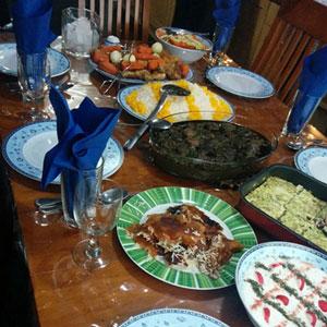 تصویر از «بریز و بپاش» و «بخور بخور» از نوع ایرانی!
