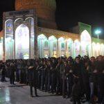مراسم  «شاه حسن، شاه حسین»  در شهرستان میبد