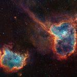 قلب و روح در فضا/عکس روز ناسا