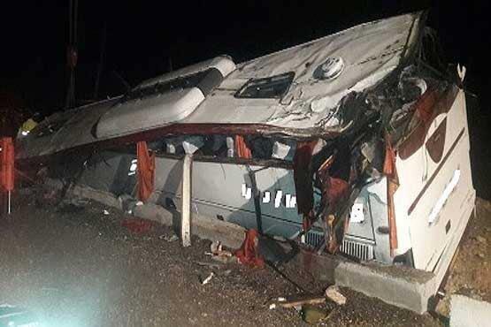 تصویر از اعلام اسامی مجروحان حادثه اتوبوس زائران یزدی/ ۲۸ نفر کشته شدند