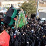 مراسم اربعین حسینی در حسینیه اعظم شهیدیه میبد