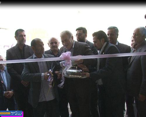Photo of افتتاح مجتمع آبرسانی شهدای روستای بخش مرکزی درمیبد