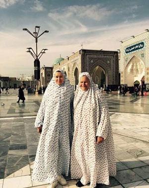 تصویر از جزییات سفر ثروتمندترین زن روسیه به ایران