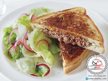 تصویر از ساندویچ گوشت