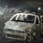 تصادف خونین ۲ خودرو در کمربندی یزد/ همه سرنشینان در آتش سوختند