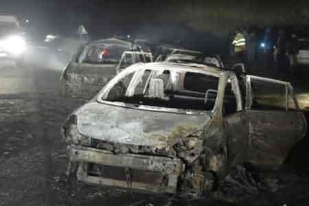 Photo of تصادف خونین ۲ خودرو در کمربندی یزد/ همه سرنشینان در آتش سوختند