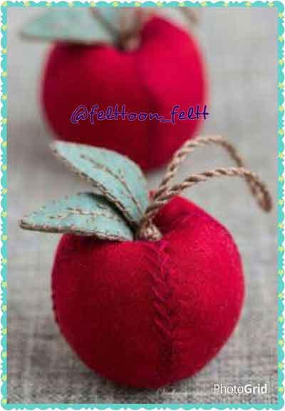 تصویر از سیب نمدی