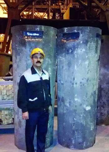 تصویر از طراحی و تولید شمش گرد برای اولین بار در شرکت فولادآلیاژی ایران
