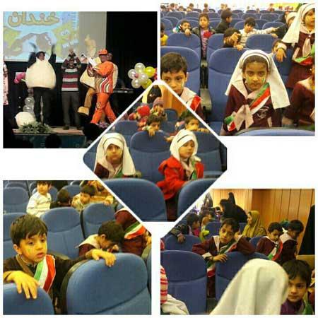 Photo of برگزاری مراسم جشن مهد کودک های میبد
