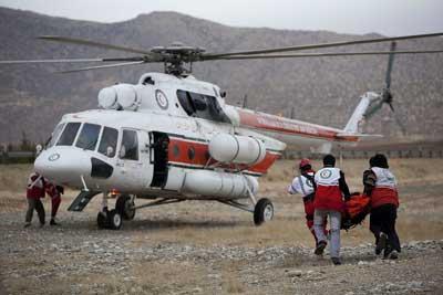 Photo of اولین بیمار اورژانس هوایی یزد در سال جدید