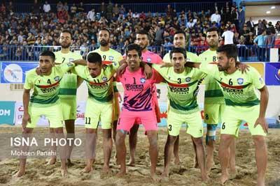 تصویر از پیروزی تیم مقاومت گلساپوش یزد برابر لوانته اسپانیا در نخستین دوره بازیهای باشگاههای جهان
