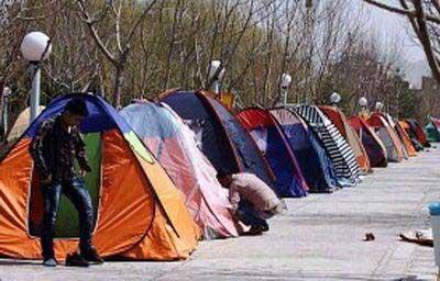 تصویر از در اماکن عمومی چادر نزنید