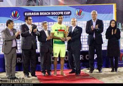 Photo of تجلیل از برترین های نخستین دوره مسابقات فوتبال ساحلی باشگاه های جهان در یزد