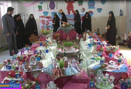 تصویر از استقبال پیشدبستانیهای رکنآباد از نوروز با جشنواره هفتسین