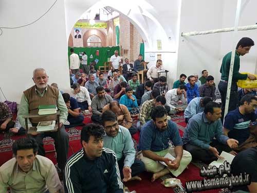 Photo of برگزاری مراسم اعتکاف در مسجد جامع میبد