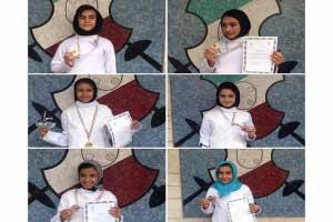 Photo of دستیابی دختران  یزدی به مدال طلا و نقره در  مسابقات شمشیر بازی قهرمانی نونهالان کشور