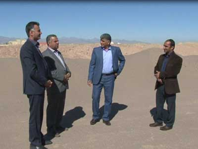 Photo of افتتاح زمین ورزشی فوتبال ساحلی در میبد