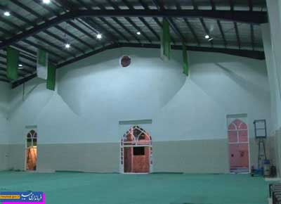 Photo of افتتاح سالن ورزشی غدیر در میبد