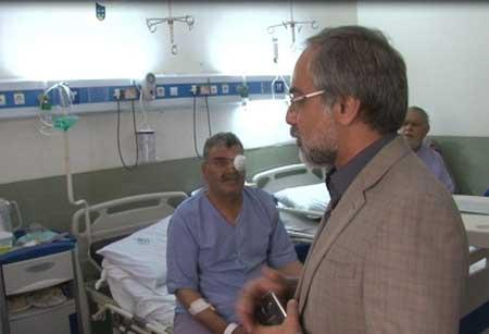 تصویر از بازدید دکتردهقانی از پروژه های نیمه تمام بیمارستان میبد