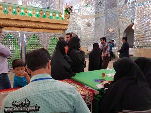 Photo of گزارش تصویری از حضور حماسه آفرین میبد ی ها در انتخابات ۹۶ بخش اول