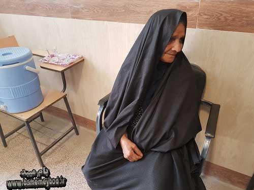 تصویر از حضور حماسه آفرین میبدی ها در انتخابات ۹۶ بخش دوم
