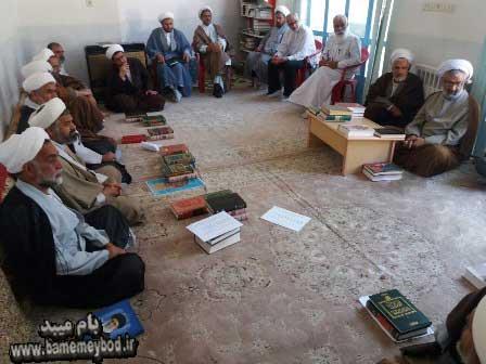 تصویر از جلسه ای مشترک بین بهزیستی میبد و شورای مبلغان شهرستان با موضوع کاهش آسیبهای اجتماعی تشکیل گردید