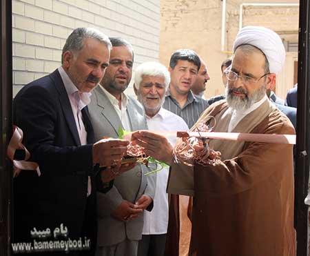 Photo of بهره برداری از سالن فرهنگی ورزشی شهید مبینی