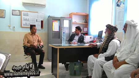 Photo of تجلیل از داوطلبین سلامت شهرک مهمانشهر افغان آباد در میبد