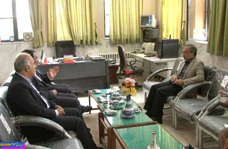 تصویر از بازدید نماینده مردم میبد و تفت از اداره فرهنگ و ارشاد اسلامی میبد