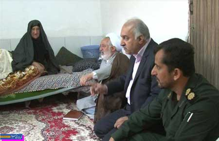 Photo of دیدار با خانوادههای شهدا و جانبازان طلاب درمیبد