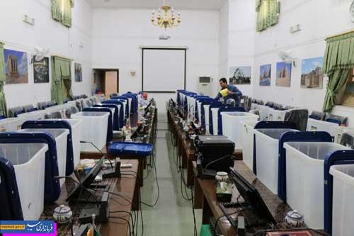 Photo of گزارش تصویری آماده سازی صندوق های اخذ رای شهرستان میبد