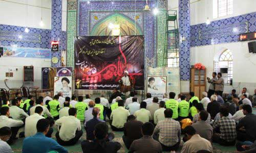 Photo of مراسم بیست و هشتمین سالگرد امام راحل درمیبد برگزار شد
